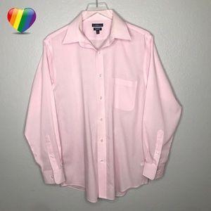 Croft Barrow Broadcloth Classic Shirt A050129